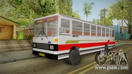 Huanghai DD6111CT Suburban Bus Red for GTA San Andreas