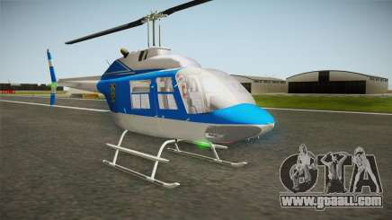 Bell 206 NYPD Helicopter for GTA San Andreas