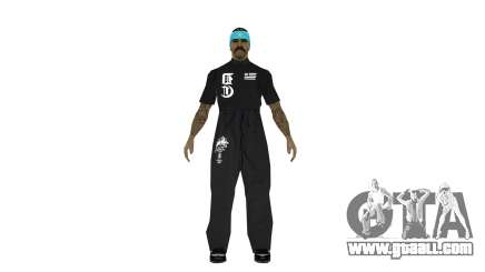 Full pack of skins Ghetto for GTA San Andreas