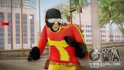 Toni Cipriani in Hero Costume for GTA San Andreas