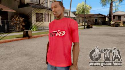 Deep Web T-Shirt for GTA San Andreas
