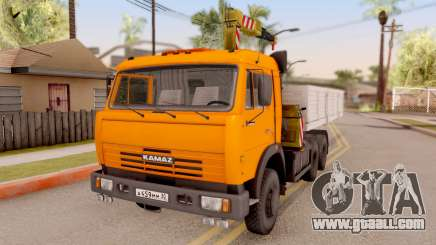 KamAZ 54115 Side Loader for GTA San Andreas