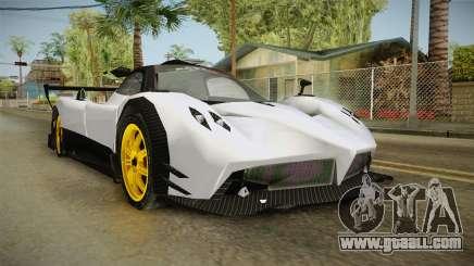Pagani Zonda Low for GTA San Andreas
