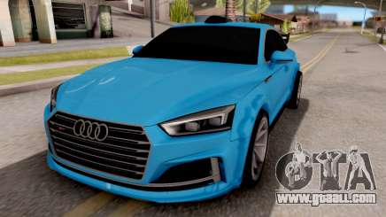 Audi S5 2017 Tuning for GTA San Andreas