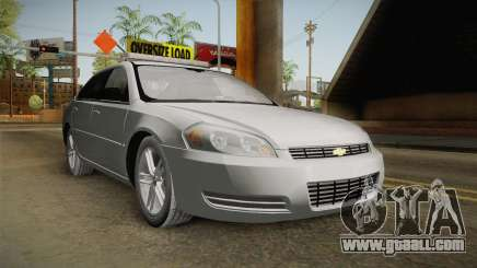 Chevrolet Impala 2008 LTZ Pilot Car for GTA San Andreas