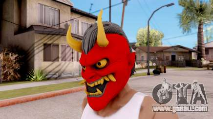 Mask Samurai for GTA San Andreas