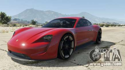Porsche Mission E 2015 for GTA 5