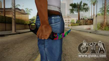 MistakeArt Karambit for GTA San Andreas