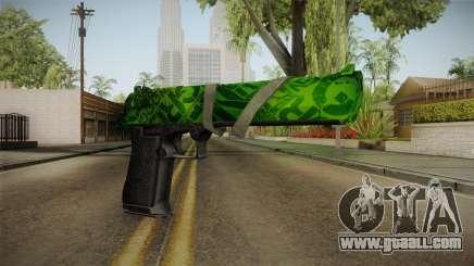 Green Desert Eagle for GTA San Andreas