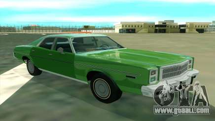 Plymouth Fury Salon 1978 for GTA San Andreas