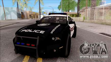 Ford Mustang GT High Speed Police for GTA San Andreas