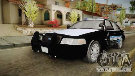 Ford Crown Victoria 2009 Airport Police for GTA San Andreas