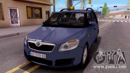 Skoda Roomster Stock for GTA San Andreas