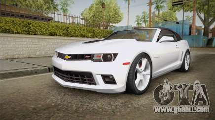 Chevrolet Camaro Convertible 2014 for GTA San Andreas
