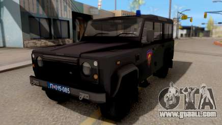 Land Rover Defender Gendarmerie, Which for GTA San Andreas