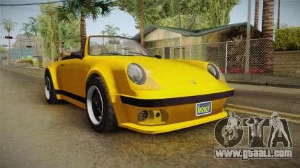 GTA 5 Pfister Comet Retro Cabrio for GTA San Andreas