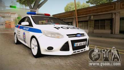 Ford Focus 1.6 Turkish Police for GTA San Andreas