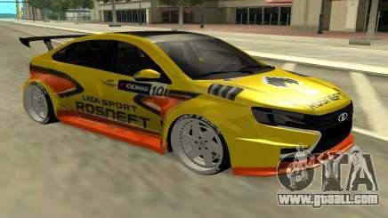 Lada Vesta WTCC for GTA San Andreas