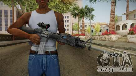 M16A4 ACOG for GTA San Andreas