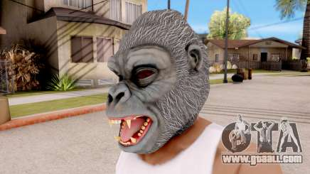 The Gorilla Mask for GTA San Andreas
