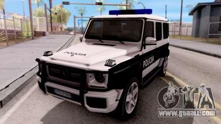Mercedes-Benz G65 AMG BIH Police Car for GTA San Andreas