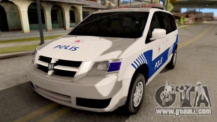 Dodge Grand Caravan Turkish Police for GTA San Andreas