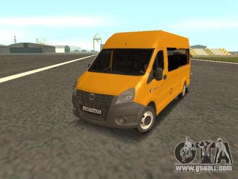 GAS-A65R35 GAZelle NEXT Bus for GTA San Andreas