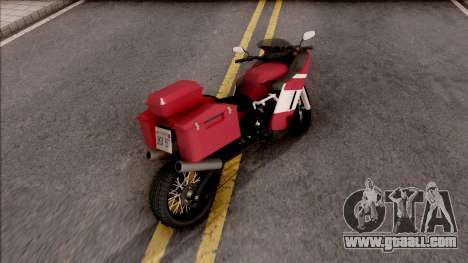 FCR900 XR Adventure for GTA San Andreas back left view