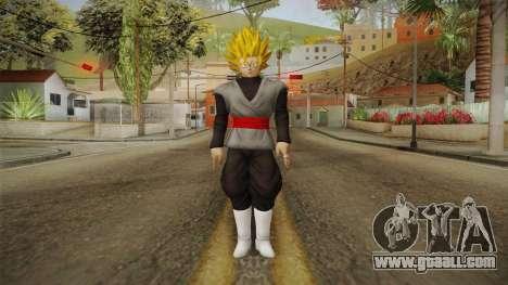 DBX2 - Goku Black SSJ2 v2 for GTA San Andreas second screenshot
