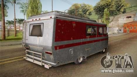 GTA 5 Zirconium Journey Worn for GTA San Andreas back left view