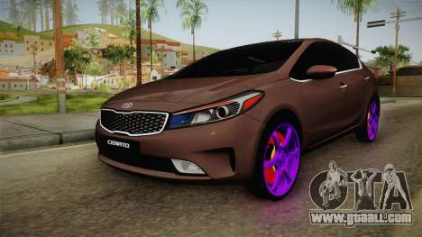 Kia Cerato Eccentric for GTA San Andreas