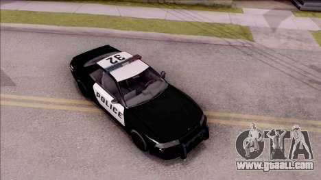 GTA V Annis Elegy Retro Interceptor for GTA San Andreas right view