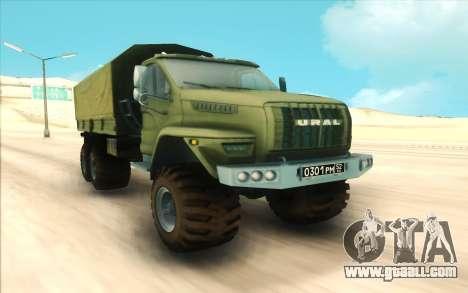 Ural NEXT Military for GTA San Andreas