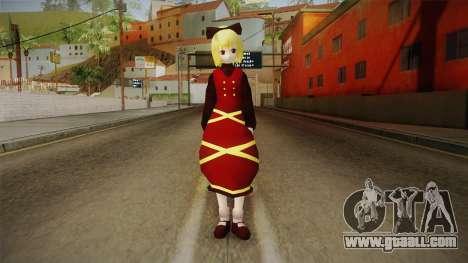 Yamame Touhou for GTA San Andreas second screenshot