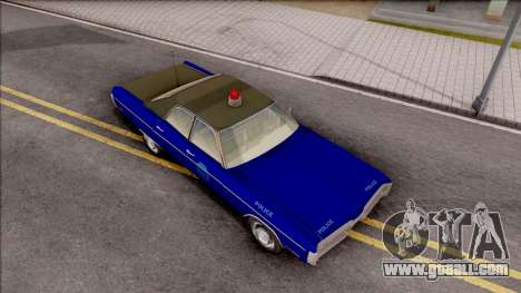 Plymouth Fury 1972 Housing Authority Police for GTA San Andreas right view