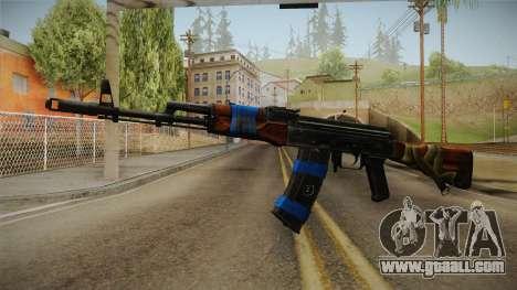 Contract Wars - AK-74 for GTA San Andreas second screenshot