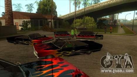 Visual Car Copypaster v1.0 for GTA San Andreas third screenshot