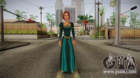 Princess Fiona for GTA San Andreas second screenshot