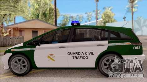 Dinka Perennial MPV Spanish Police for GTA San Andreas left view