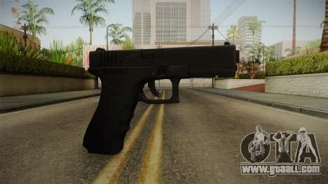 Glock 17 Blank Sight for GTA San Andreas second screenshot