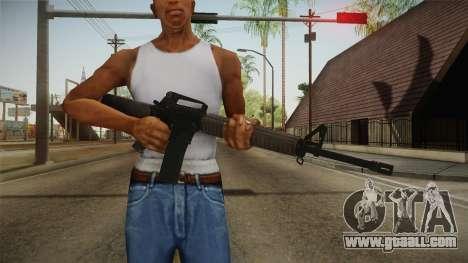 COD Advanced Warfare M16 for GTA San Andreas third screenshot