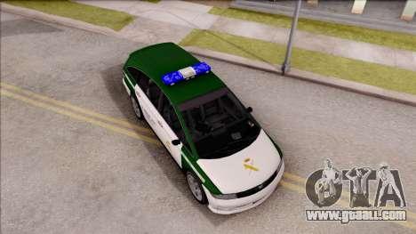 Dinka Perennial MPV Spanish Police for GTA San Andreas right view