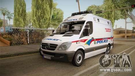Mecerdes-Benz Sprinter YRP for GTA San Andreas