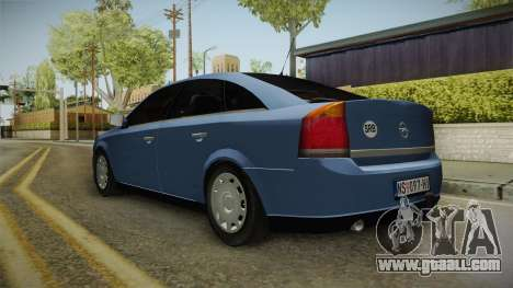 Opel Vectra C for GTA San Andreas back left view