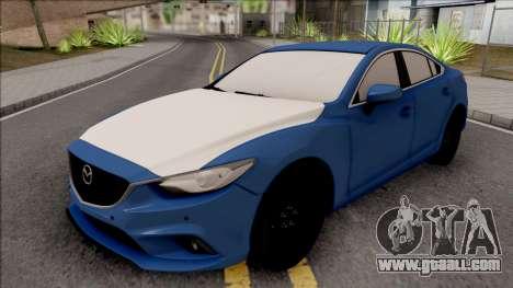 Mazda 6 Standard 2015 for GTA San Andreas