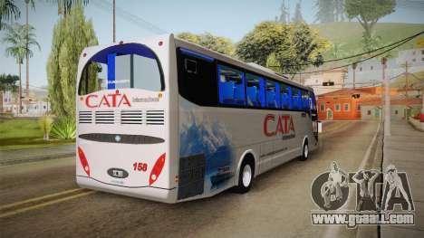 Metalsur Starbus 1 Piso Elevado for GTA San Andreas back left view