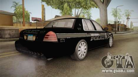 Ford Crown Victoria PI Stealth YRP for GTA San Andreas right view