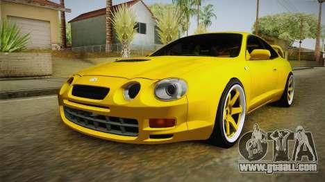 Toyota Celica GT for GTA San Andreas