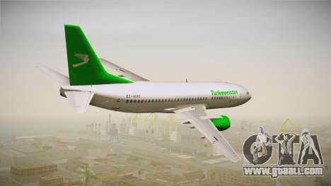 Boeing 737-300 Turkmenistan Airlines for GTA San Andreas left view