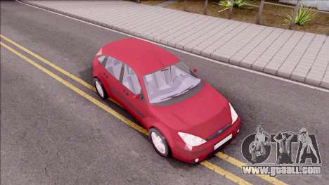 Ford Focus Hatchback for GTA San Andreas right view